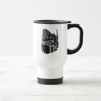 Transformers | Optimus Prime 3D Model Travel Mug