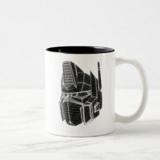 Transformers | Optimus Prime 3D Model Two-Tone Coffee Mug