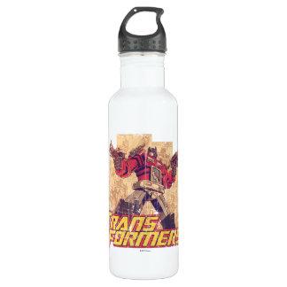 Transformers | Optimus Prime - Comic Book Sketch 710 Ml Water Bottle