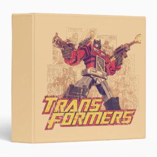 Transformers | Optimus Prime - Comic Book Sketch Binders