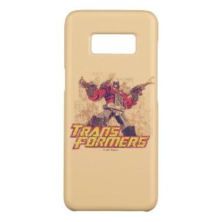Transformers | Optimus Prime - Comic Book Sketch Case-Mate Samsung Galaxy S8 Case