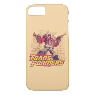Transformers | Optimus Prime - Comic Book Sketch iPhone 8/7 Case
