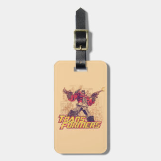 Transformers | Optimus Prime - Comic Book Sketch Luggage Tag