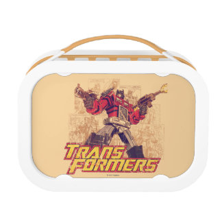 Transformers | Optimus Prime - Comic Book Sketch Lunch Box