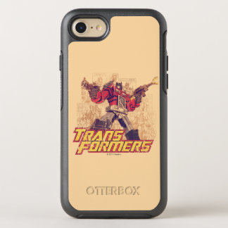 Transformers | Optimus Prime - Comic Book Sketch OtterBox Symmetry iPhone 8/7 Case