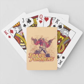 Transformers | Optimus Prime - Comic Book Sketch Playing Cards