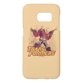 Transformers | Optimus Prime - Comic Book Sketch Samsung Galaxy S7 Case