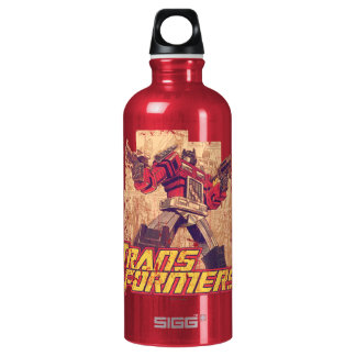 Transformers | Optimus Prime - Comic Book Sketch Water Bottle
