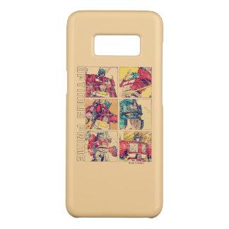 Transformers | Optimus Prime Comic Strip Case-Mate Samsung Galaxy S8 Case