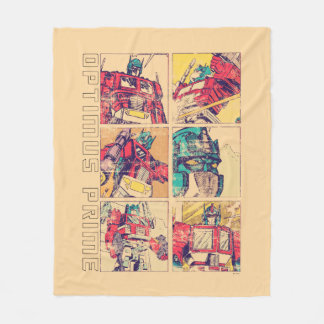 Transformers | Optimus Prime Comic Strip Fleece Blanket