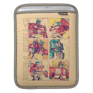 Transformers | Optimus Prime Comic Strip iPad Sleeve