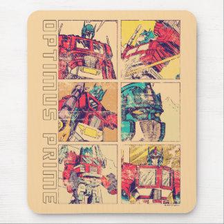 Transformers | Optimus Prime Comic Strip Mouse Pad