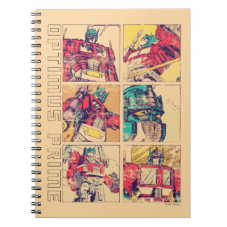 Transformers | Optimus Prime Comic Strip Notebooks