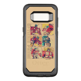 Transformers | Optimus Prime Comic Strip OtterBox Commuter Samsung Galaxy S8 Case