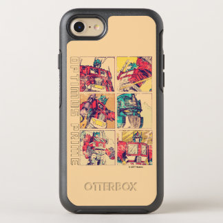 Transformers | Optimus Prime Comic Strip OtterBox Symmetry iPhone 8/7 Case