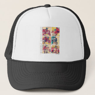 Transformers | Optimus Prime Comic Strip Trucker Hat