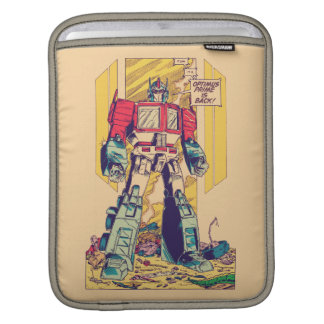 Transformers | Optimus Prime is Back iPad Sleeve