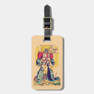 Transformers | Optimus Prime is Back Luggage Tag