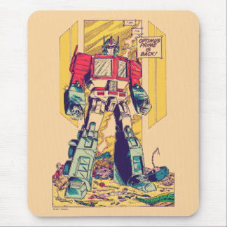 Transformers | Optimus Prime is Back Mouse Pad