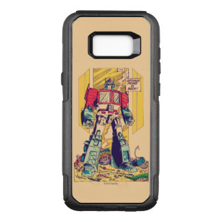 Transformers | Optimus Prime is Back OtterBox Commuter Samsung Galaxy S8+ Case