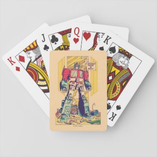 Transformers | Optimus Prime is Back Playing Cards