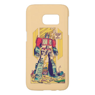 Transformers | Optimus Prime is Back Samsung Galaxy S7 Case