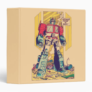 Transformers | Optimus Prime is Back Vinyl Binders