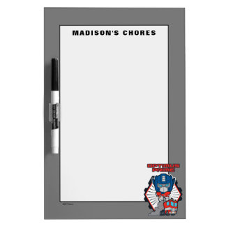 Transformers | Optimus Prime Returns Dry Erase Board
