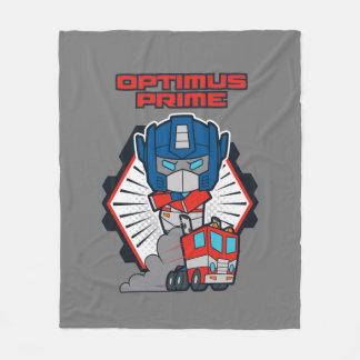 Transformers | Optimus Prime Returns Fleece Blanket