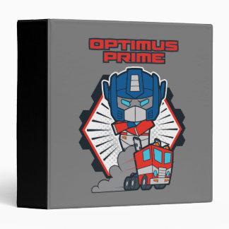 Transformers | Optimus Prime Returns Vinyl Binders