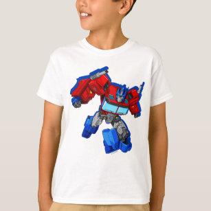 A/&E Designs Transformers Boys T-Shirt Decepticon Logo Black Tee