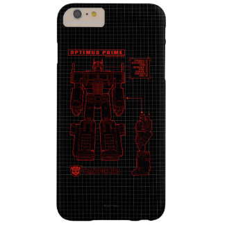 Transformers | Optimus Prime Schematic Barely There iPhone 6 Plus Case
