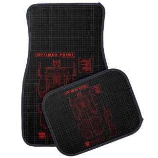 Transformers | Optimus Prime Schematic Car Mat