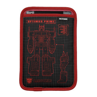 Transformers | Optimus Prime Schematic iPad Mini Sleeve