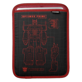Transformers | Optimus Prime Schematic iPad Sleeve