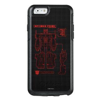 Transformers | Optimus Prime Schematic OtterBox iPhone 6/6s Case