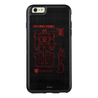Transformers | Optimus Prime Schematic OtterBox iPhone 6/6s Plus Case