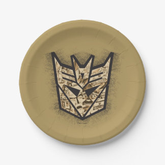 Transformers | Reveal the Shield Paper Plate