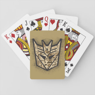 Transformers | Reveal the Shield Playing Cards