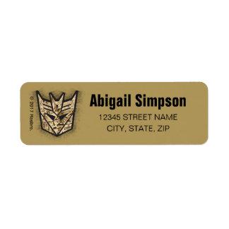 Transformers | Reveal the Shield Return Address Label