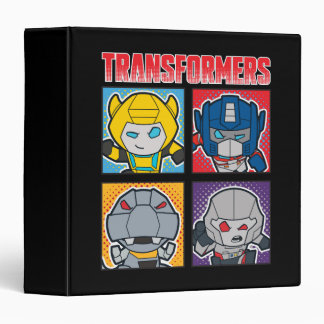 Transformers | Robots Assemble! 3 Ring Binder