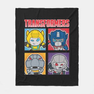 Transformers | Robots Assemble! Fleece Blanket