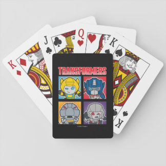 Transformers | Robots Assemble! Playing Cards