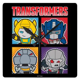 Transformers | Robots Assemble! Square Wall Clock