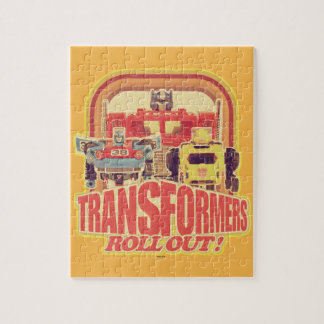 Transformers | Transformers Roll Out Jigsaw Puzzle