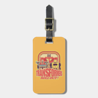 Transformers | Transformers Roll Out Luggage Tag