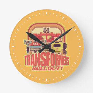 Transformers | Transformers Roll Out Round Clock