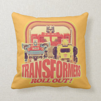 Transformers | Transformers Roll Out Throw Pillow