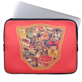Transformers | Two Species at War Laptop Sleeve