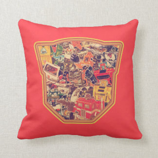 Transformers | Two Species at War Throw Pillow